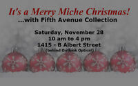 Merry Miche Christmas! OPEN HOUSE with Fifth Avenue Collection