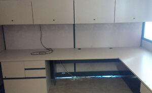 OFFICE CUBICLES FOR SALE. DESK, CABINETS, PANELS. MAKE AN OFFER. Kitchener / Waterloo Kitchener Area image 1