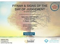 Fitnah & Signs of The Day of Judgement