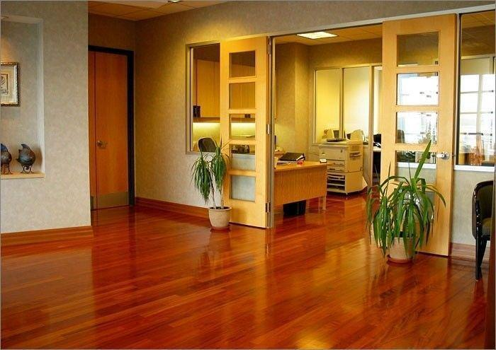Jatoba houten vloer aanbieding compleet geplaatst incl ra