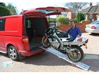 DOUBLE FOLDING ALUMINIUM RAMPS SUIT MOBILITY SCOOTER WHEELCHAIRS VAN TRAILER CARS ATV QUAD TRIKE ATC