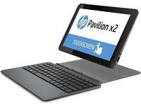 "HP Pavilion x2 10-K007NA Intel Atom Z3736F Windows 10. 10.1"" Laptop small ultra portable"