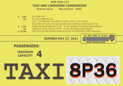 Taxi-prize