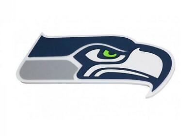 Seattle Seahawks XXL Relief 3D Optik Magnet Foam Logo NFL -