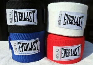 Paire Bandages à Main EVERLAST 3m (10') Boxe Combat Football VVV