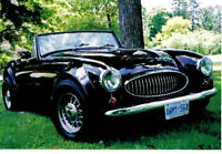 1962 Austin Healey Replica -  Ready for the Summer