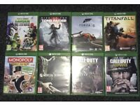 Xbox one and PS4 games bundle