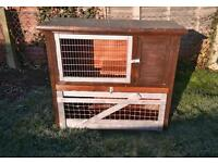 Double Rabbit Hutch, Usable Condition
