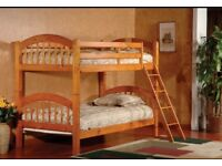 Bunk bed can also be used as a double bed