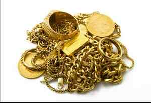 We Buy Your Old Gold!