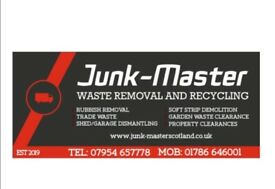 JUNKMASTER RUBBISH REMOVAL HOUSE CLEARANCE TRADE WASTE
