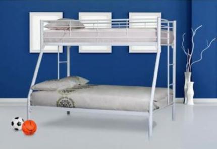 Trio Tubular Bunk Bed Sleeps 3