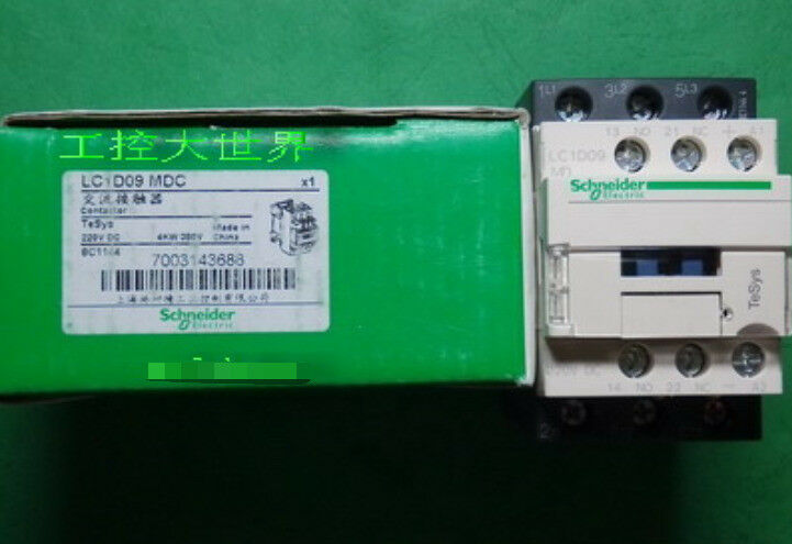 Fst  LC1D09MDC DC220V 1PC NEW Schneider DC contactors