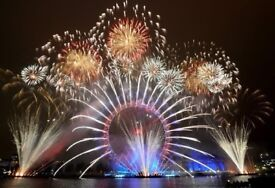 London Eye Fireworks New year Eve Tickets - 2017 (RED area)