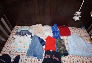 Baby boy clothing 0-6 months