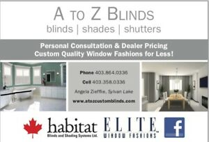 A to Z Blinds Sylvan Lake