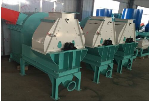 WATER DROP TYPE FEED HAMMER MILL 22KW READY TO SHIP IN USA