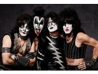 Kiss Standing Tickets x2 @ O2 London - Wednesday 31st May 2017
