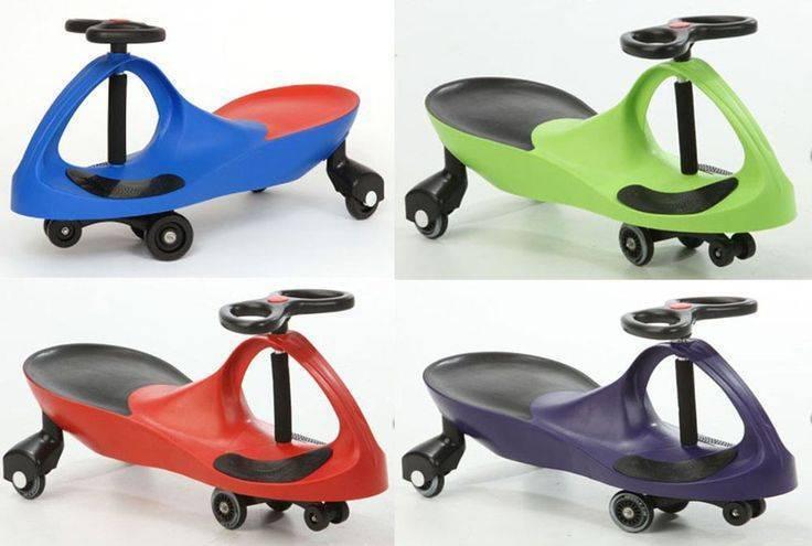 NEW KIDS RIDE ON TOY PLASMA SWIVEL CAR WIGGLE SWING SCOOTER TEKNO