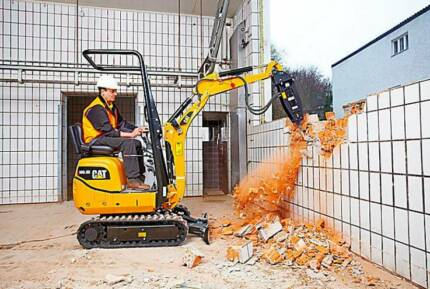 1 TONNE (700MM WIDE) TIGHT ACCESS MINI EXCAVATOR DRY HIRE