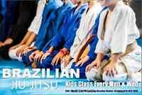 Youth Brazilian Jiu Jitsu Training