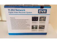 DVR with 500GB HDD Brand New Boxed with remote supports 4 Camera