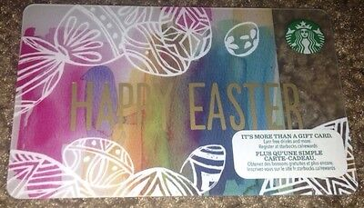 Starbucks happy easter giftebay starbucks gift card happy easter 2015 pastel colors new no value canada negle Gallery