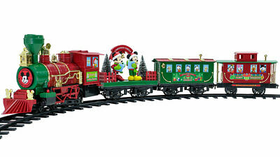 Disney Mickey Mouse Holiday Express 36 Piece Train Set Series 2 Collectors Editi