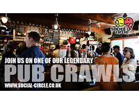 JOIN US FOR ONE OF OUR LEGENDARY PUB CRAWLS IN THE NORTHERN QUARTER