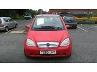 Mercedes a140 1.4 LONG MOT! Cheap too insure and cheap to tax