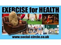 Gym classes, Walks, Keep Fit all included.