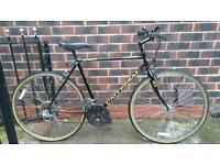 Vintage / retro universal hybrid / road bike
