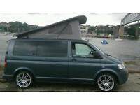 Volkswagon vw t5 camper campervan ,low miles, elevating roof, 2 previous owners lovely van