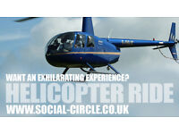3 Person 15 Minute HELICOPTOR EXPERIENCE FLIGHT on SATURDAY 17th JUNE 2017 at 9.00am - SEE ADVERT