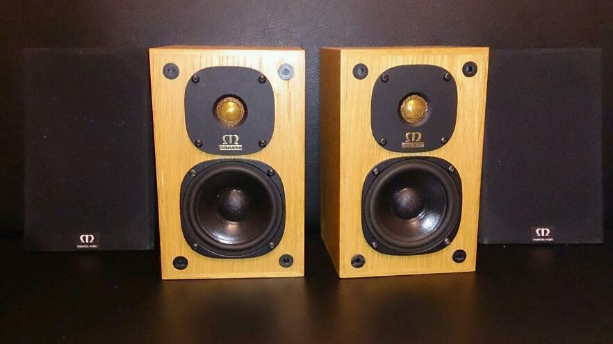 monitor audio monitor one gold in barking london gumtree. Black Bedroom Furniture Sets. Home Design Ideas