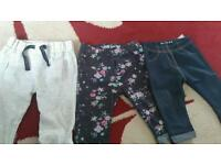 3-6 month girls trousers
