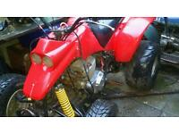 £295 ovno X road Quad 250cc twin cylinder twin carb no v5