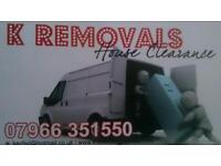 Removals House clearance