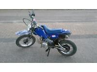 125cc semi-automatic Field, monkey, pit bike for sale