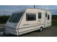Abbey county Stafford 17 ft 5 berth 2000