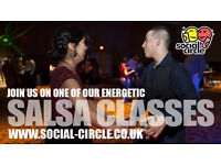 BAD DAY AT WORK? WANT TO RELEASE EXCESS ENERGY? JOIN ONE OF OUR SALSA CLASSES - EVERY THURSDAY