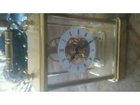 'president' quartz battery carriage clock