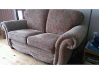 Generous 2 seater sofa