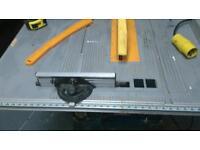 110v ryobi table saw and stand