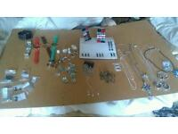 Costume jewelery job lot all new watches earrings rings chains pendants £70 call 07562383668