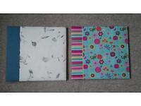 New. Photo album scrapbooks. 12x12. £5 each.