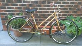 Vintage/ retro ladies triumph Road hybrid bike