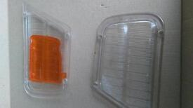 Ford cortina mk 1 front light lenses