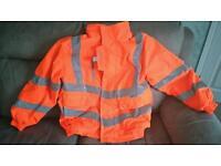 Hi Vis bomber jacket Good Condition