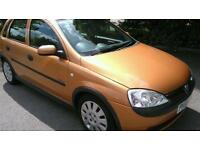 VAUXHALL CORSA ACTIVE 1.0 2003 FULL/SERVICE/HISTORY / ONLY 64,000 MILES
